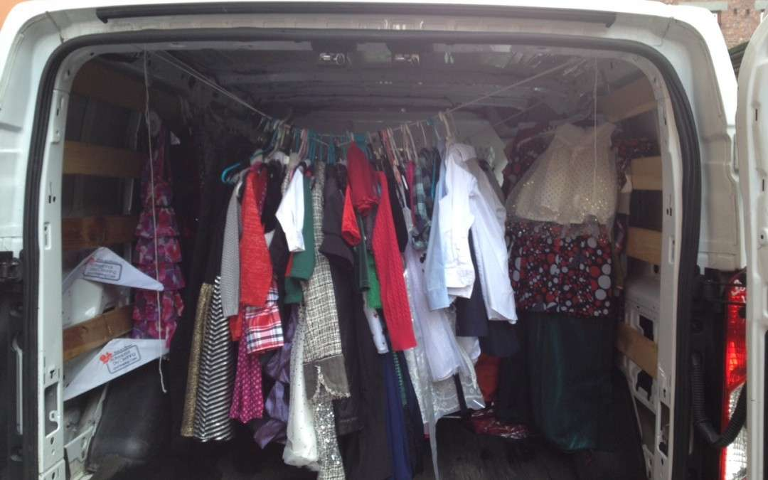 Clothing Drive Success!